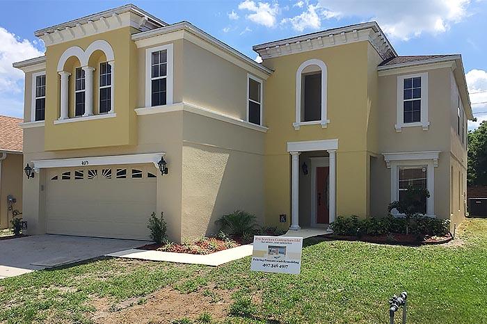 Ochre Stucco House Pro Service Contractors LLC