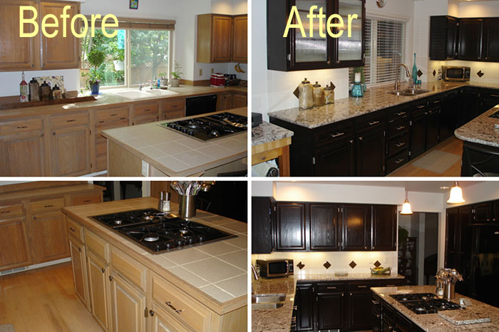 Pro Service Contractors - Kitchen & Bath Before & After